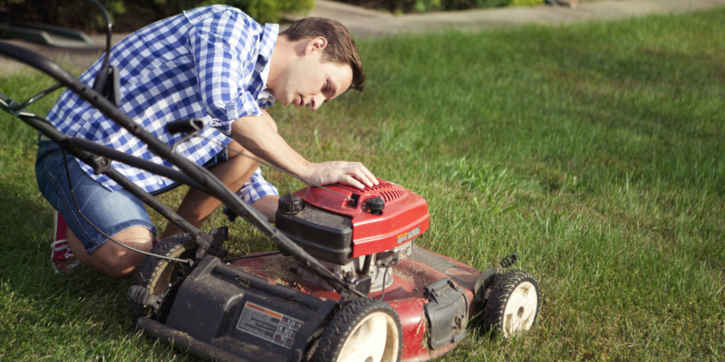 getting a tune up is always a good idea for your lawn mower